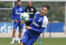 Bintang muda Schalke, Amine Harit, raih Bundesliga Rookie Award 2017/18.