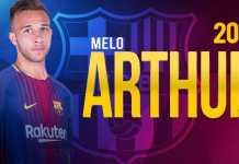 Arthur Melo, Barcelona - Gremio