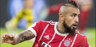 Arturo Vidal mengecam wasit dan Real Madrid usai Bayern Munchen disingkirkan El Real di semifinal Liga Champions, Rabu (2/5).