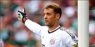 Bayern Munchen kembali kehilangan kiper andalannya, Manuel Neuer, yang kembali alami cedera dan harus beristirahat lagi selama dua - tiga hari mendatang.
