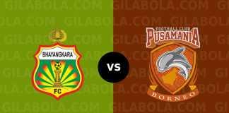 Bhayangkara FC vs Borneo FC Liga 1 Indonesia