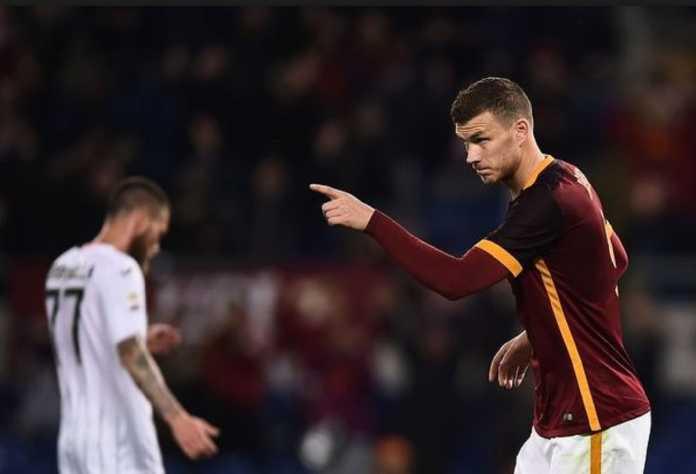 AS Roma berharap bisa perpanjang kontrak strikernya, Edin Dzeko, yang saat ini tengah diincar Los Angeles FC.
