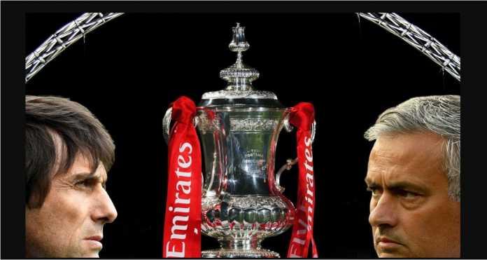 Chelsea akan menghadapi favorit Manchester United pada partai final FA Cup, Sabtu malam.