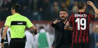 Gennaro Gattuso terancam dipecat AC Milan jika mantan gelandang Rossonerri itu gagal membawa klub tersebut berlaga di Eropa misim depan.
