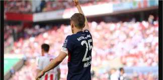 Thomas Muller menjadi pemain menakutkan pada laga Koln vs Bayern Munchen setelah bertindak sebagai penyedia assist untuk dua gol tim tamu malam ini.