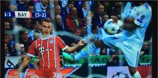 Handball bek Real Madrid Marcelo pada masa injury time babak pertama tidak berujung tendangan penalti bagi Bayern Munchen. Wasit Cuneyt Cakir asal Turki memilih mengabaikannya.