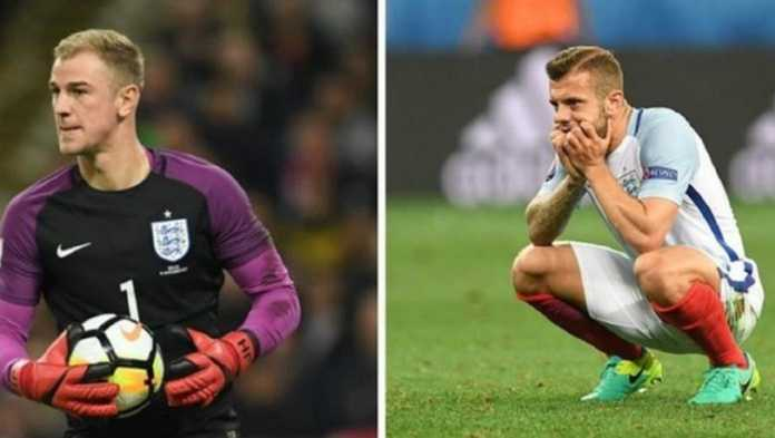 Timnas Inggris kini minus dua bintang lawasnya, Joe Hart dan Jack Wilshere, di Piala Dunia Rusia.