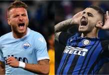 Lazio vs Inter Milan di ajang Liga Italia, Senin dinihari, akan menjadi penentu siapa yang lolos ke Liga Champions musim depan.