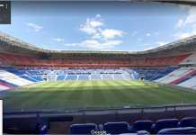 Stade de Lyon, lokasi final Liga Europa malam ini. Foto diambil dari Google Street.