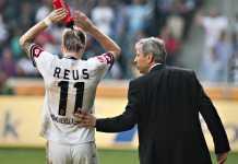 Marco Reus dan Lucien Favre