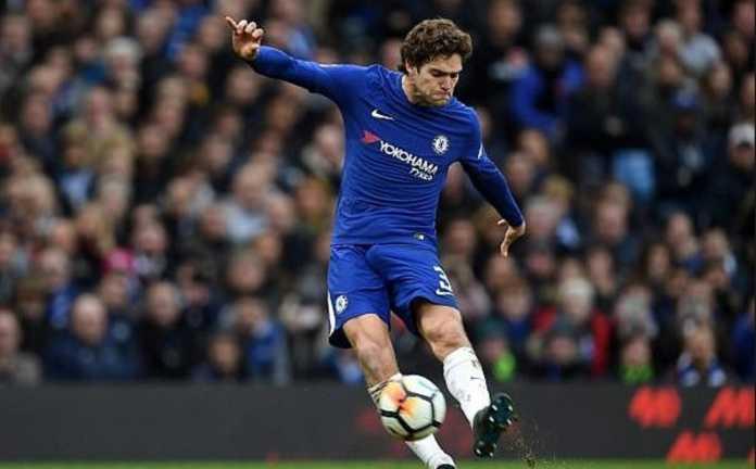Marcos Alonso akui skuad Chelsea merasa frustrasi di laga kontra Huddersfield Town yang berakhir imbang, 2-2.