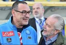 Presiden Napoli, Aurelio de Laurentiis, katakan waktu pelatih Maurizio Sarri sudah habis walau pelatih itu masih terus meminta waktu.