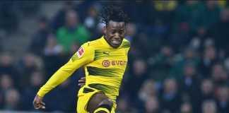Michy Batshuayi tentukan masa depannya, apakah akan tetap di Borussia Dortmund atau pulang ke Chelsea, usai Piala Dunia Rusia.