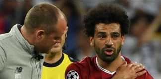 Mesir pastikan bintang Liverpool, Mohamed Salah, akan absen kurang dari tiga pekan dan siap bermain di Piala Dunia Rusia bulan depan.