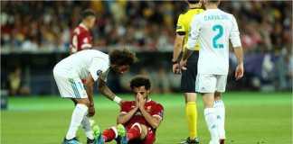 Mohamed Salah kemungkinan besar tak bisa memperkuat Mesir di ajang Piala Dunia 2018.