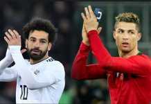 Kiper Liverpool, Loris Karius, mengaku tak bisa bandingkan Mohamed Salah dan Cristiano Ronaldo karena keduanya sama-sama pemain papan atas.