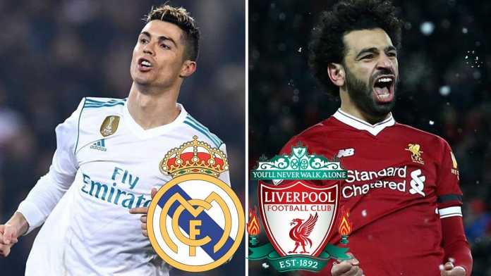 Mohamed Salah vs Cristiano Ronaldo, Liverpool vs Real Madrid, Final Liga Champions