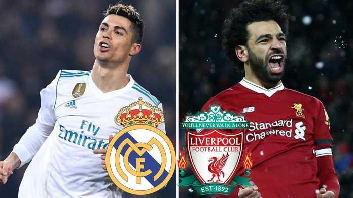 Mohamed Salah vs Cristiano Ronaldo, Liverpool vs Real Madrid, Final Liga Champions