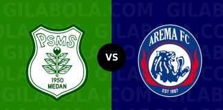 PSMS Medan vs Arema FC