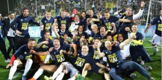 Parma dapat promosi dan akan kembali berlaga di Serie A musim depan, setelah mereka dinyatakan bangkrut dan terlempar ke Serie D.