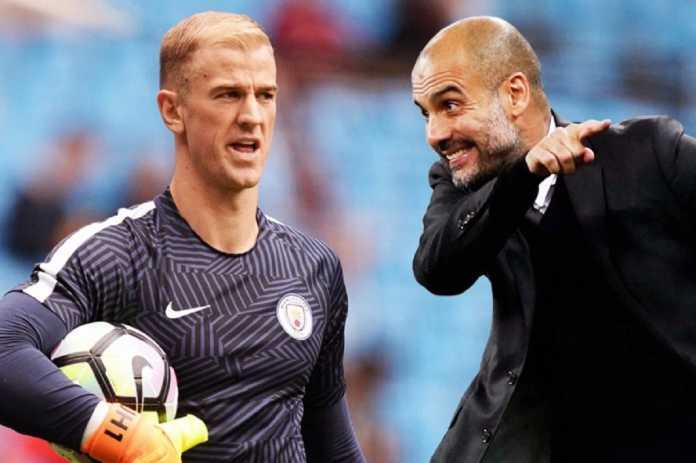 Pelatih Manchester City, Pep Guardiola, disebut-sebut telah hancurkan karir kiper Inggris, Joe Hart.