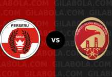 Perseru Serui vs Sriwijaya FC, Liga 1 Indonesia