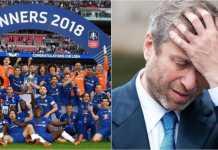 Visa investor Roman Abramovich belum dibaharui oleh pemerintah Inggris dan sebagai akibatnya ia gagal nonton final Piala FA, Minggu.