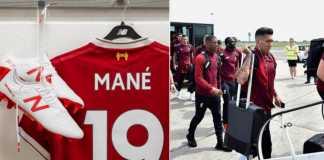 Sadio Mane, Liverpool vs Real Madrid