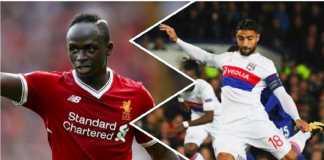 Sadio Mane sambut gembira rencana kedatangan bintang Olympique Lyon, Nabil Fekir, ke Anfield, musim depan.