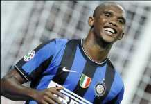 Samuel Eto'o telah lakukann pembicaraan dengan Lazio terkait kemungkinan dirinya kembali ke Serie A musim depan.