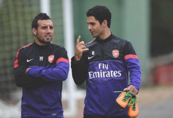 Selangkah lagi jadi pelatih Arsenal, Mikel Arteta ingin Santi Cazorla jadi staf pelatih di Emirates.