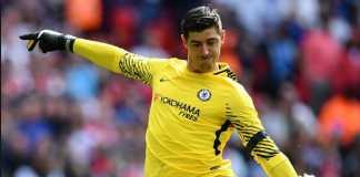 Kiper Chelsea, Thibaut Courtois, bertekad menangkan trofi FA Cup untuk para suporter the Blues.