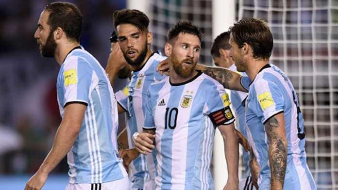 argentina umumkan skuad sementara piala dunia 2018