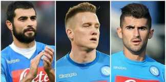 Trio Napoli Raul Albiol, Elseid Hysaj dan Piotr Zielinski,