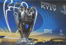 Trofi Liga Champions, yang akan diperebutkan oleh Liverpool dan Real Madrid malam ini.