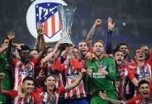 Video Highlights Cuplikan Gol Marseille vs Atletico Madrid, Liga Europa