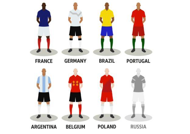 7 Tim Calon Pemenang Piala Dunia 2018
