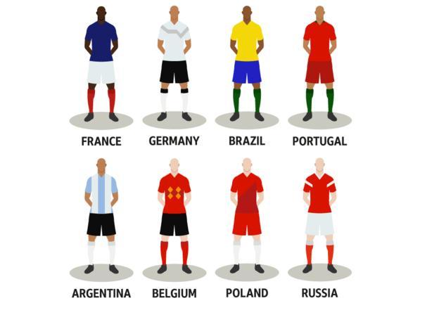 8 Tim Calon Pemenang Piala Dunia 2018