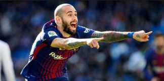 Bek Barcelona, Aleix Vidal, berpeluang gabung AS Roma jika Alessandro Florenzi memilih hengkang ke Inter Milan musim depan.