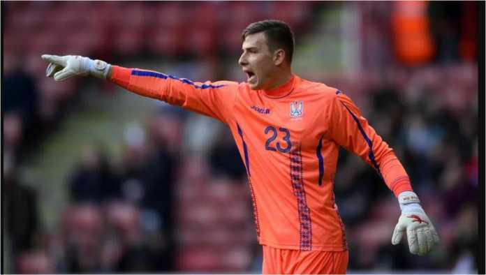 Kiper asal Ukraina, Andriy Lunin, diharapkan akan bergabung dengan Real Madrid, musim panas ini.