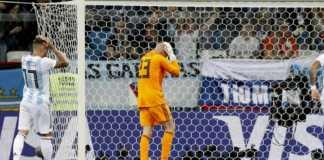 Argentina vs Kroasia, Blunder Konyol Willy Caballero