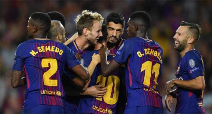Jika Andres Iniesta masih dihitung sebagai pemain Barca maka ada 13 pemain  Blaugrana pada babak 16 c7efd51511