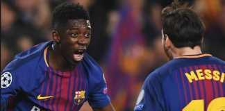 Barcelona mengaku tak jadi lepas Ousmane Dembele dan akan berusaha pertahankan penyerang muda asal Prancis itu.