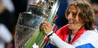 Bintang Real Madrid Luka Modric dan Trofi Liga Champions