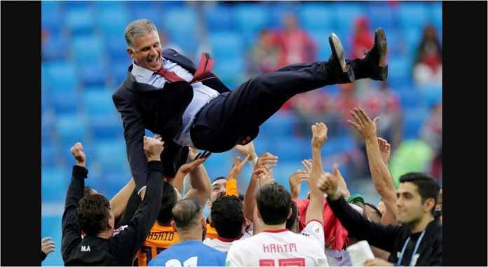 Pemain Iran Karim Ansarifard berharap pelatih asal Portugal, Carlos Queiroz, diberi perpanjangan kontrak usai Piala Dunia 2018