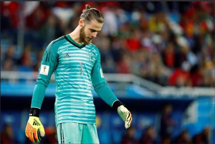 David de Gea bisa kehilangan tempatnya di Timnas Spanyol setelah tampil buruk di laga sebelumnya.