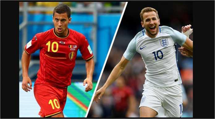 Eden Hazard (Belgia) dan Harry Kane (Inggris) adalah dua pemain bintang dari Grup G Piala Dunia 2018.