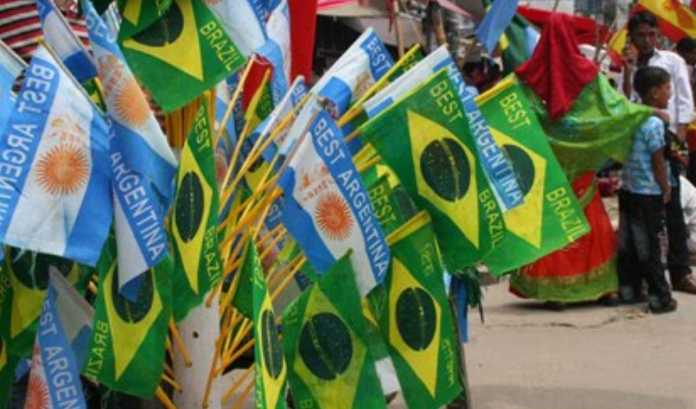 Euforia Piala Dunia di Bangladesh