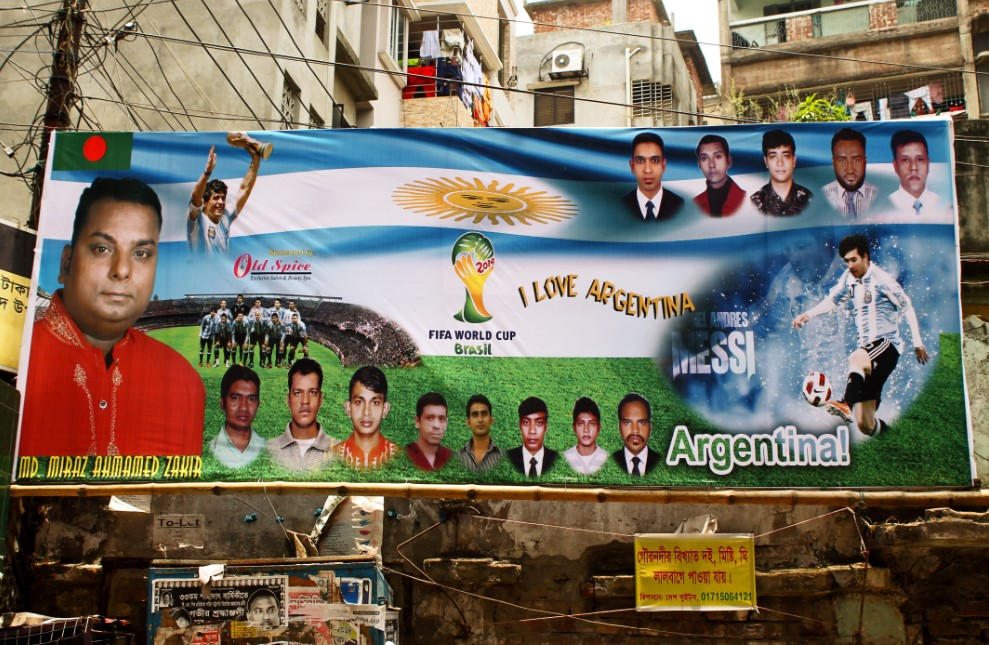 Euforia Piala Dunia di Bangladesh - politik