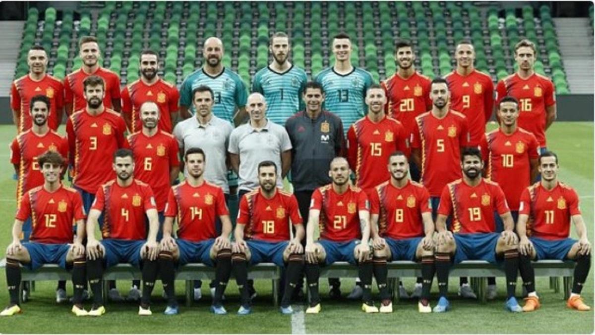 Setelah 18 Hari Timnas Spanyol Punya Foto Tim Baru